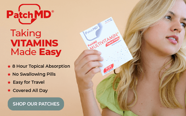 Taking Vitamin made easy - PatchMD